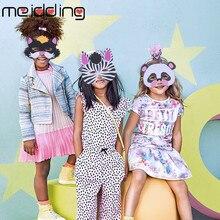 7Pcs Creative Funny EVA Children Animal Mask Kids Woodland Farm Dress Prop Jungle Birthday Party Decoration Gift Supplies