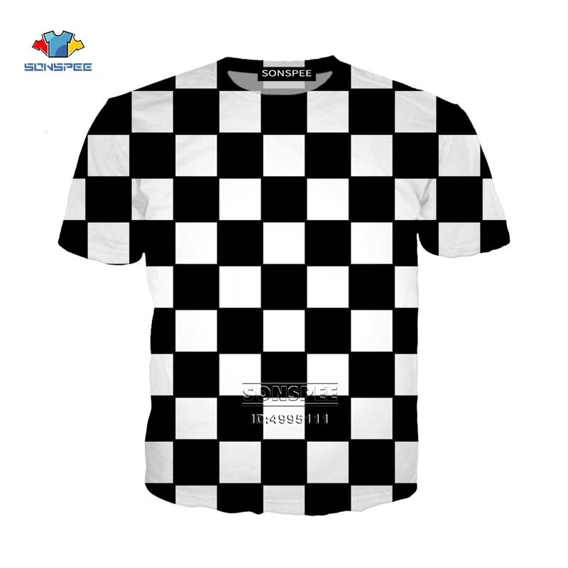 New Funny Chess Board 3D Print Women Men's T-shirts Harajuku T-shirts Summer Tshirt Hip Hop Clothes Casual Oversized Streetwear
