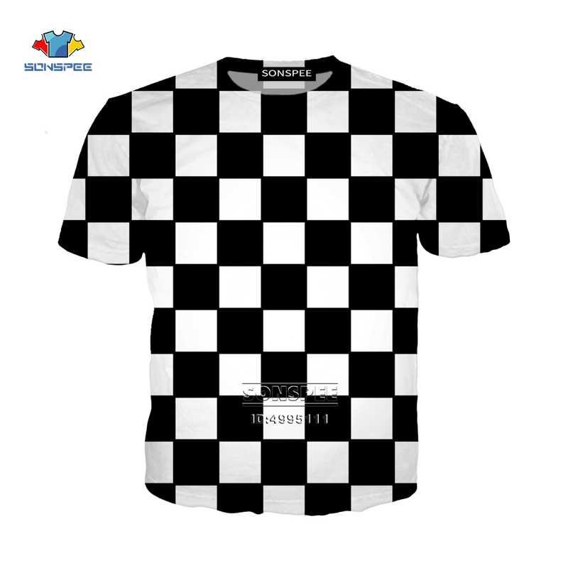 Nieuwe Schaakbord 3D Print heren T-shirts Harajuku Vrouwen T-shirt Zomer T-shirt Off White Casual Harajuku Oversized Jeugd Kleren