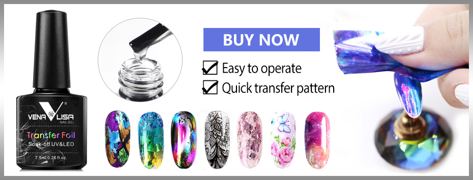 VENALISA Super couleur Gel peintures cristal laque CANNI Nail Art paillettes perle diamants tremper hors platine UV vernis à ongles Gel LED