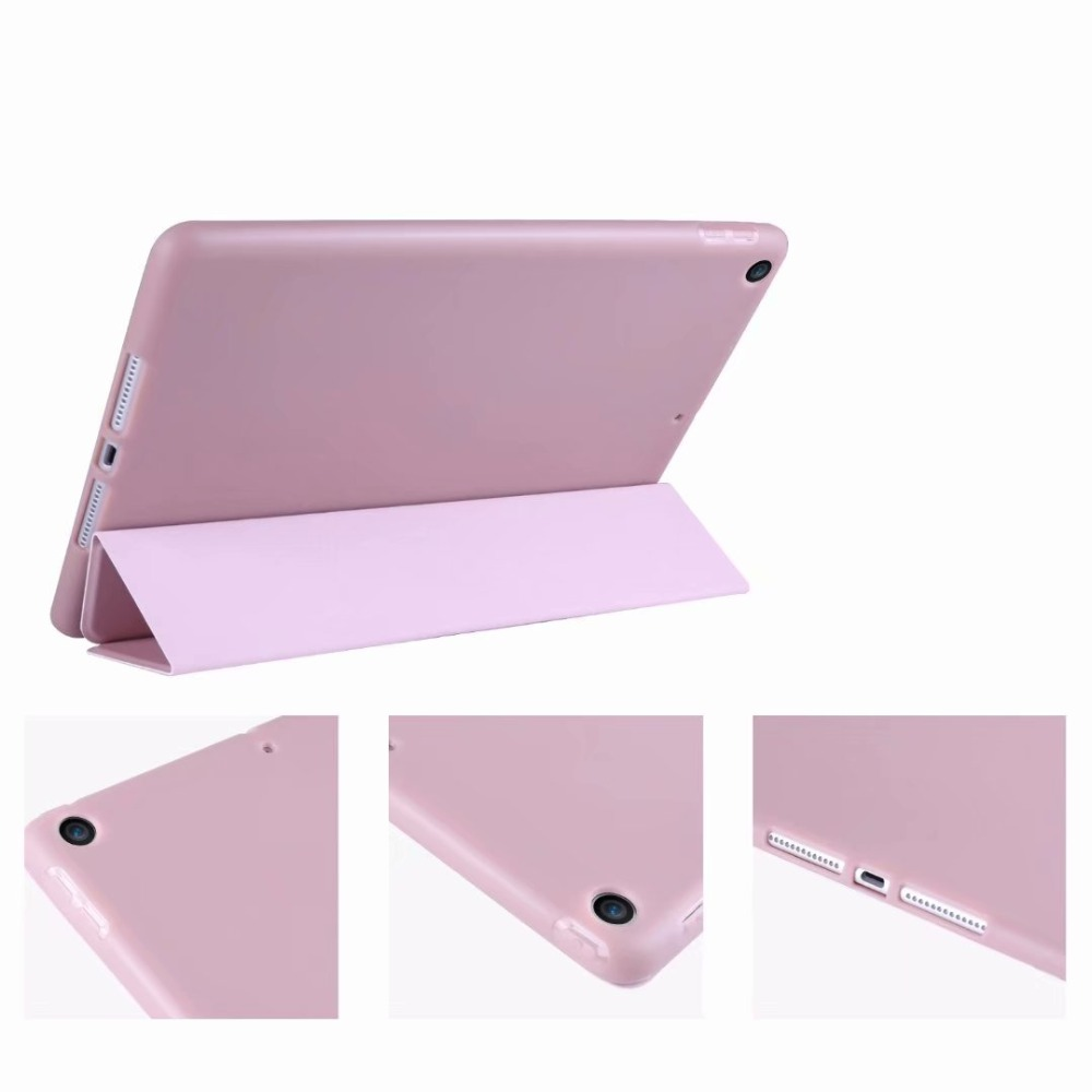 Tri-fold light TPU Slim 10 Case Tablet iPad 2 Soft Cover 10.2 Smart For Case For Ipad