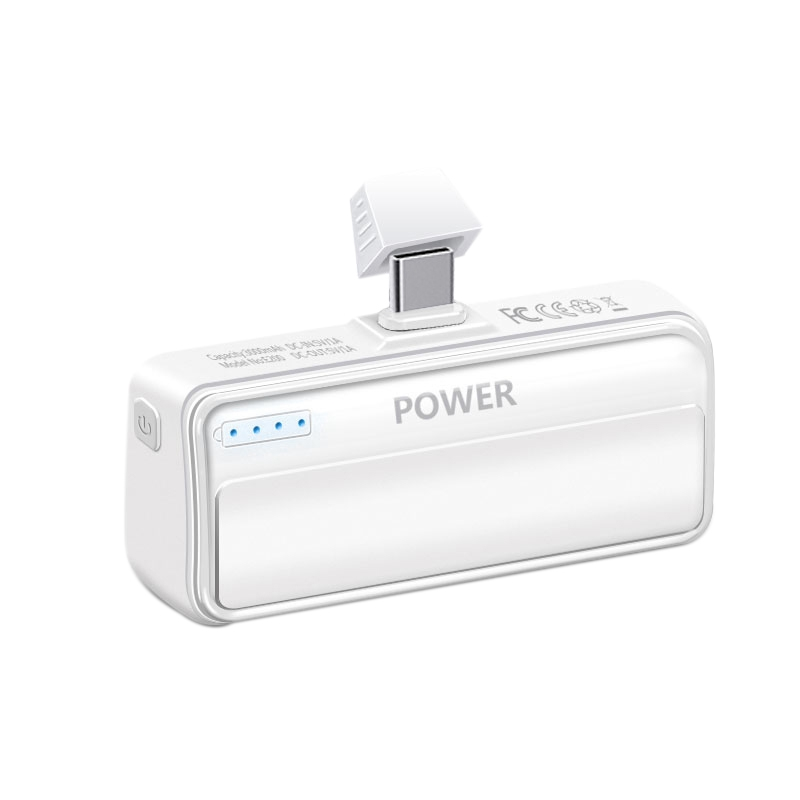 Mini Wireless Power Bank 3000MAh Portable Charger External Battery For Samsung, Huawei, Xiaomi Type-C Interface Device