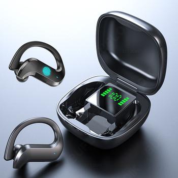 TWS słuchawki bezprzewodowe Bluetooth słuchawki z redukcją szumów sportowe wodoodporne słuchawki 9D Stereo bezprzewodowe słuchawki douszne z mikrofonem tanie i dobre opinie BUFLOIK Dynamiczny CN (pochodzenie) wireless 120dB Do kafejki internetowej Słuchawki do monitora Do gier wideo Zwykłe słuchawki