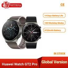 Globalna wersja Huawei zegarek GT 2 PRO inteligentny zegarek GPS 14 dni żywotność baterii wodoodporny telefon bezprzewodowy ładowanie dla androida iOS Kod:ALIAN11 ($110-$11)