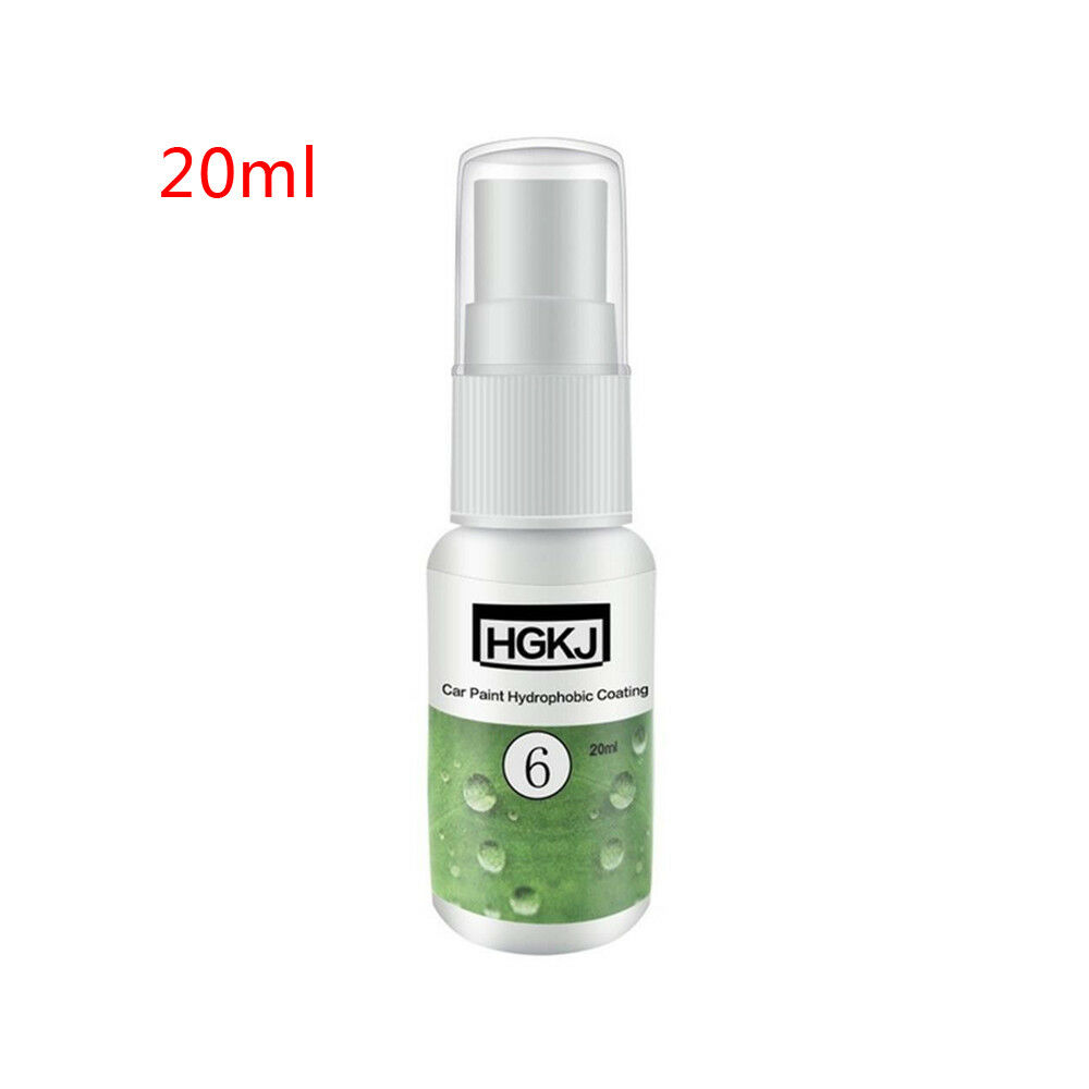 <font><b>20ml</b></font> HGKJ-6 <font><b>Car</b></font> Ceramic Polish <font><b>Nano</b></font> <font><b>Hydrophobic</b></font> <font><b>Car</b></font> <font><b>Glass</b></font> Cleaning Coating Wax Spray Paint Liquid Repair Accessories image