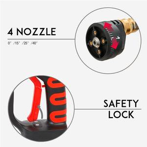 Image 3 - 320PSI yüksek basınçlı araba yıkama şarj edilebilir aksesuarları lityum pil kablosuz sprey su araba temizleme tabancası el temizleyici