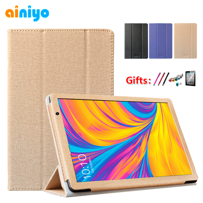 "Newest Case Cover For 2019 Teclast P10s 4G 10.1""Tablet Pc Stand Pu Leather Case For 2019 P10hd 4G 10.1 Inch Shell + Gifts"