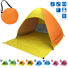 Camping Tent Outdoor Automatic Tents Portable Beach Tent Anti Uv Shelter Pop Up Waterproof Camping Fishing Hiking Picnic Tent цена 2017