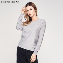 Phi Star Brand 2020 NEW Women Full Sleeve Sweaters Knitted Pullover Ladies Fashion Thin Sweater
