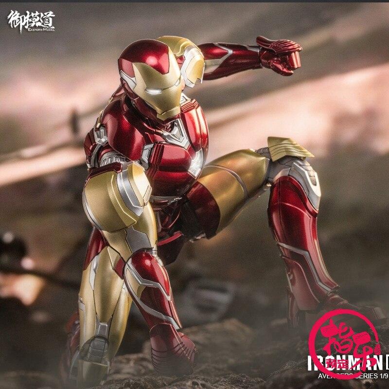 E-Model 1/9 Iron Man MK85 Assemble Model Robot 23cm Action Figure Toy