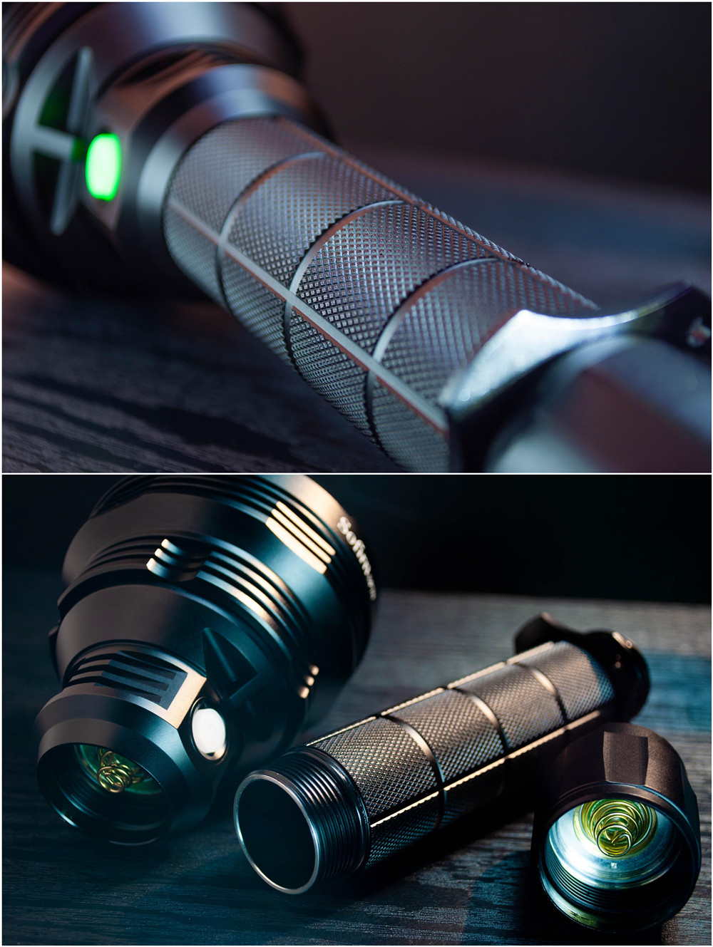Sofirn SP70 Ultra bright 26650 LED Flashlight High Power 5500LM Tactical 18650 Light Cree XHP70.2 With ATR 2 Groups Ramping 2
