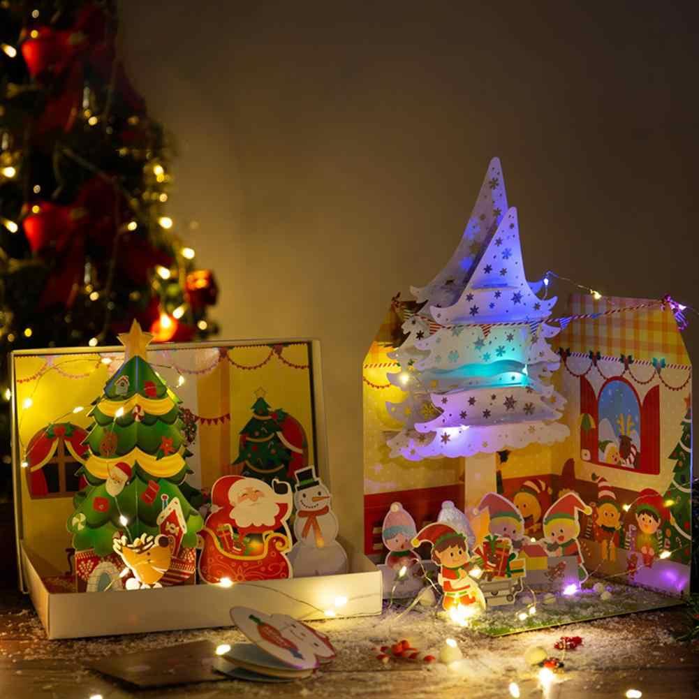 Kuulee Christmas Gift Box Santa Claus Diy Kindergarten Manual Material Increase Parent Child Relationship Craft Toys Aliexpress