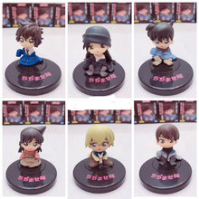 Detective Conan Case Closed Mini Kudou Shinichi Mouri Ran Model 5cm Furuya Rei Akai Shuuichi Toy Figure Sera Masumi Scotch Decor(China)