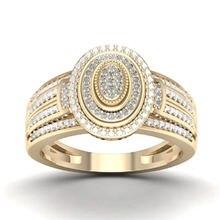 Женское кольцо новое креативный простой микро набор с цирконием