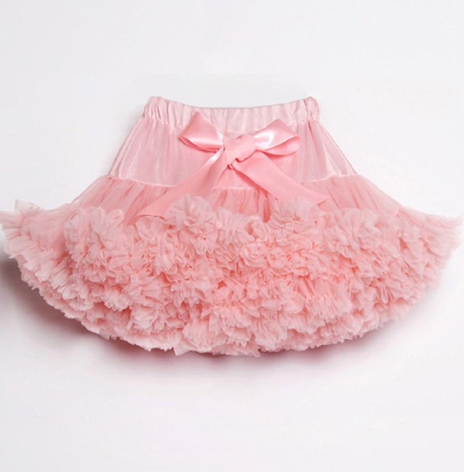 Пышные юбочки для девочек; летняя одежда для девочек; юбка-пачка; Одинаковая одежда для мамы и дочки; юбка для танцев для девочек - Цвет: Peach pink