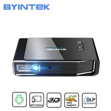 BYINTEK R15 Full HD 1080P Mini 3D 4K 5G inteligentne Wifi Android Beamer przenośny projektor LED DLP Proyector do kina domowego 300 cala tanie tanio Instrukcja Korekta Auto Korekty Projektor cyfrowy 16 09 CN (pochodzenie) Focus 700 ANSI lumens 1280x800 dpi 700ANSI lumens