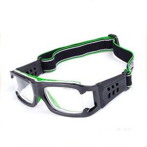Image 2 - כדורסל משקפיים ספורט Eyewear כדורגל משקפיים גברים נגד התנגשות משקפיים כושר אימון משקפי אופני רכיבה על אופניים משקפיים