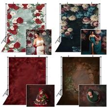 Mocsicka美術花写真撮影の背景新生児の子妊婦肖像写真結婚式の装飾の背景