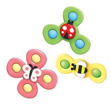 Детская цветная игрушка для спиннинга цветок насекомых 3 шт