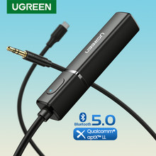 Ugreen Bluetooth Transmitter 5.0 TV Headphone PC PS4 aptX LL 3.5mm Aux SPDIF 3.5 Jack Optical Audio Music Bluetooth 5.0 Adapter(China)