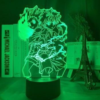 Lámpara 3D de Gon y Killua de Hunter x Hunter Merchandising de Hunter X Hunter