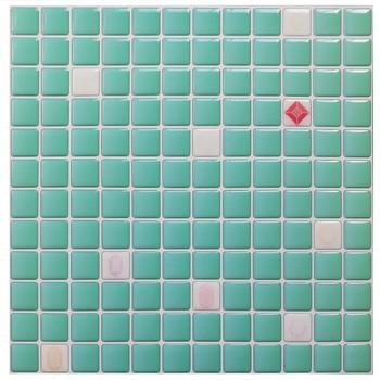 Mosaic Wall Tile Peel and Stick  Self adhesive Backsplash DIY Kitchen Bathroom Home Wall Sticker Vinyl 3D 11