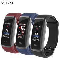 Vorke VKT2 Smart Bracelet Colorful Screen IP67 Water Resistant Bluetooth Heart Rate Monitor Compatible With IOS Android