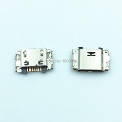 Мини-разъем Micro USB 7pin, 100 шт., порт для зарядки мобильных телефонов для Samsung J5 J7 J330 J530 J730 J1 J100 J500 J5008 J500F J700F J7008