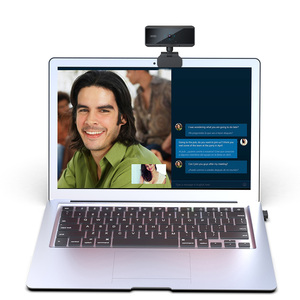 Image 3 - Cámara Web Digital Full HD 1080P con enfoque automático, USB, micrófono, ordenador, 5 megapíxeles