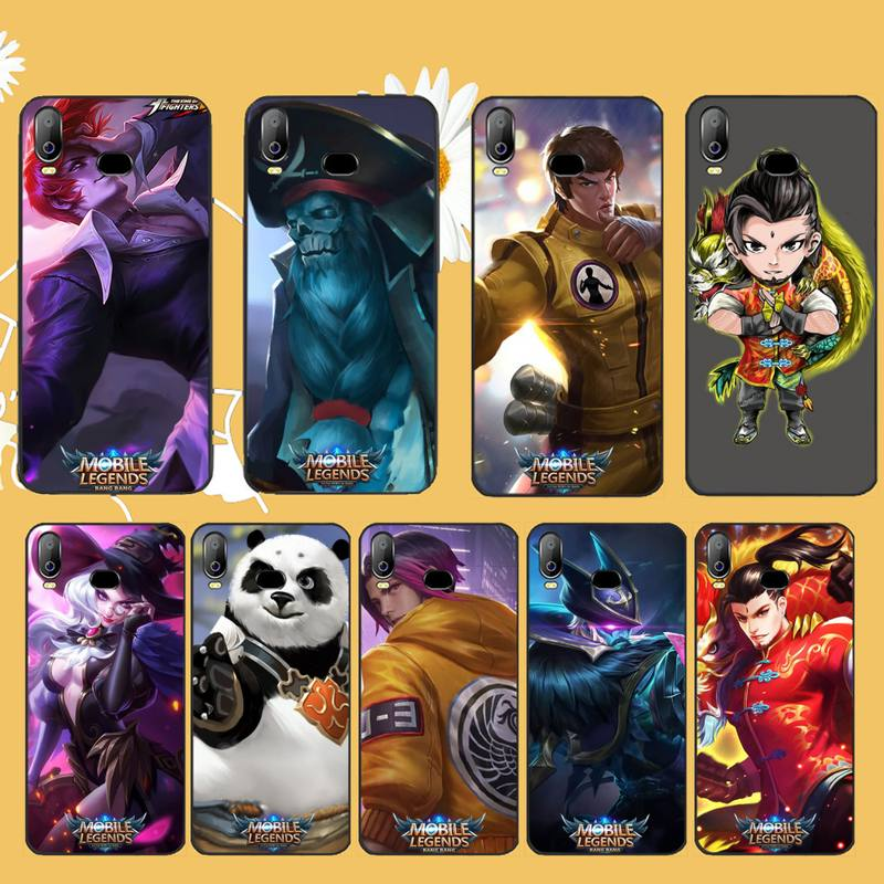 CUTEWANAN <font><b>Mobile</b></font> Legends game Soft Silicone TPU <font><b>Phone</b></font> Cover For <font><b>Samsung</b></font> A10 A20 A30 A40 A50 A70 A71 A51 <font><b>A6</b></font> A8 2018 image