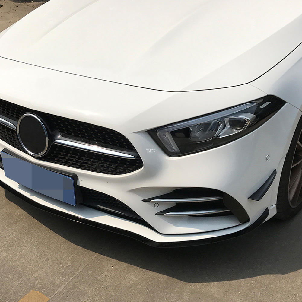 lowest price For Mercedes Benz A Class W177 V177 A180 A200 A220 A250 2019  Car Front Bumper Fog Lamp Air Vent Cover Trim Stickers Accessories