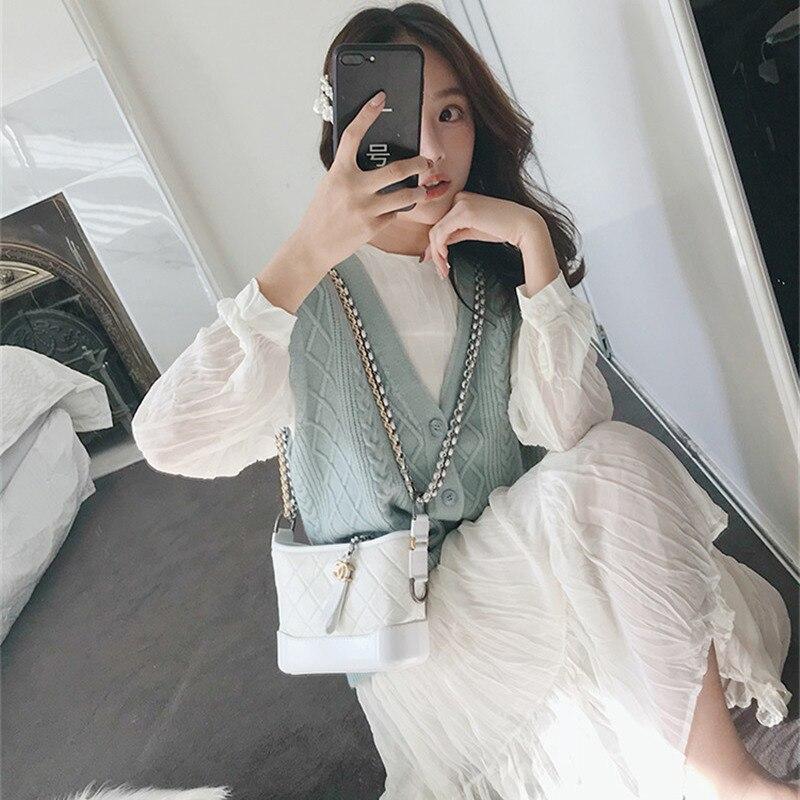 Очень фея Франция немейнстрим осень 2019 Новое Стильное женское платье осенняя одежда комплект Виктории Ретро французское полное платье по ф