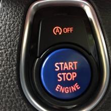 Крышка кнопки запуска и остановки двигателя для BMW F30, F10, F33, F15, F25, F48, X1, X3, X4, X5, X6, с выключателем, сменная крышка