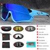 Polarizado óculos de ciclismo homem esporte óculos de sol photochromic uv400 5 lente deportivas polarizadas hombre gafas oculos ciclismo 11