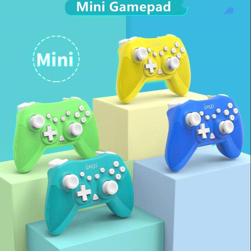 Mini Wireless Controller Unterstützt Gyro Achse, Turbo und Dual Vibration Gamepad Joystick Für Nintendo Schalter Pro ,PS3, android, PC