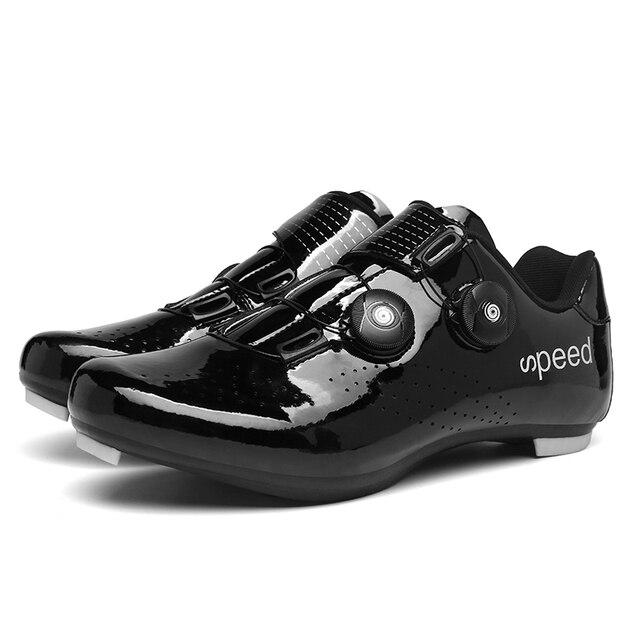 Ytuk profissional atlético sapatos de bicicleta mtb sapatos de ciclismo homem auto-bloqueio sapatos de bicicleta de estrada 4