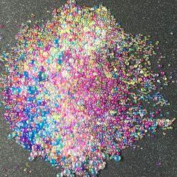 12 teile/satz Farbe Blasen DIY Kristall Epoxy Füllstoff UV Harz Nachahmung Blister