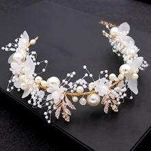 Свадебные аксессуары для волос великолепные цветочные повязки