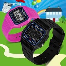 Kids Digital Watches Waterproof Children Boy LED Luminous Alarm Date Sports Wris