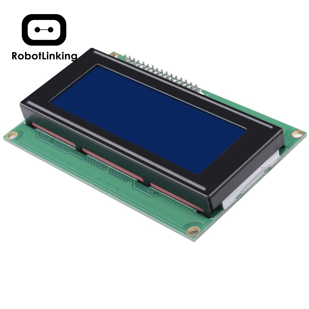 LCD <font><b>Module</b></font> Display Monitor 1602 5V Blue Screen And White Code With Acrylic Case Holder image