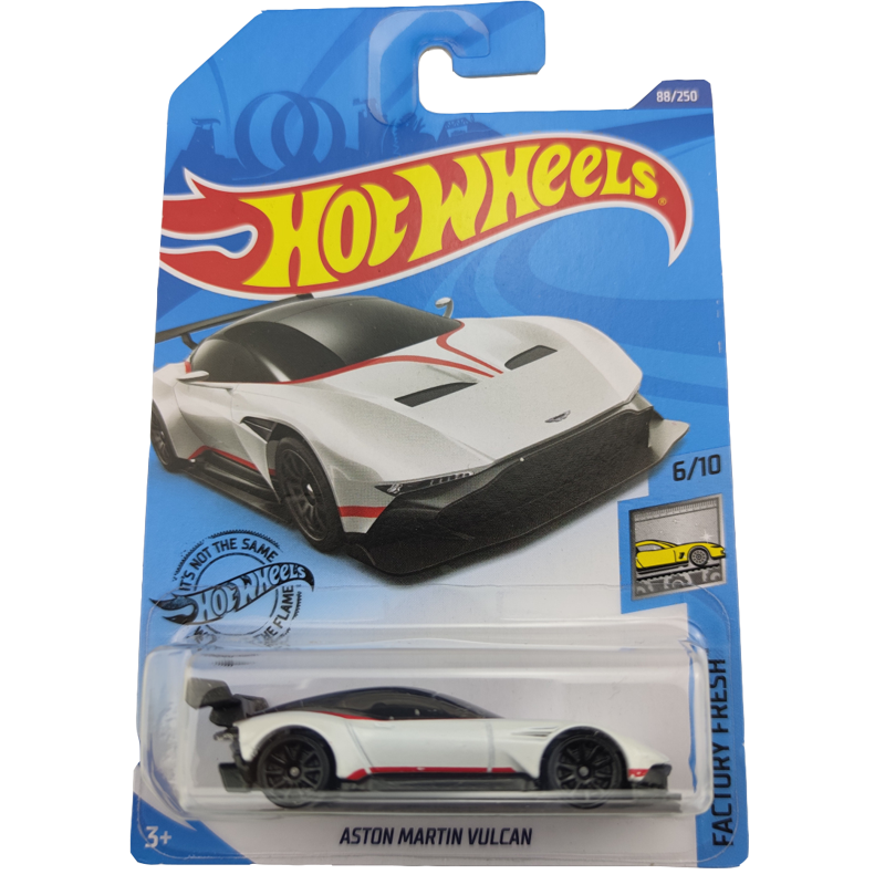 2020 Hot Wheels 1:64 Car ASTON MARTIN VULCAN Collector Edition Metal Diecast Model Cars Kids Toys Gift