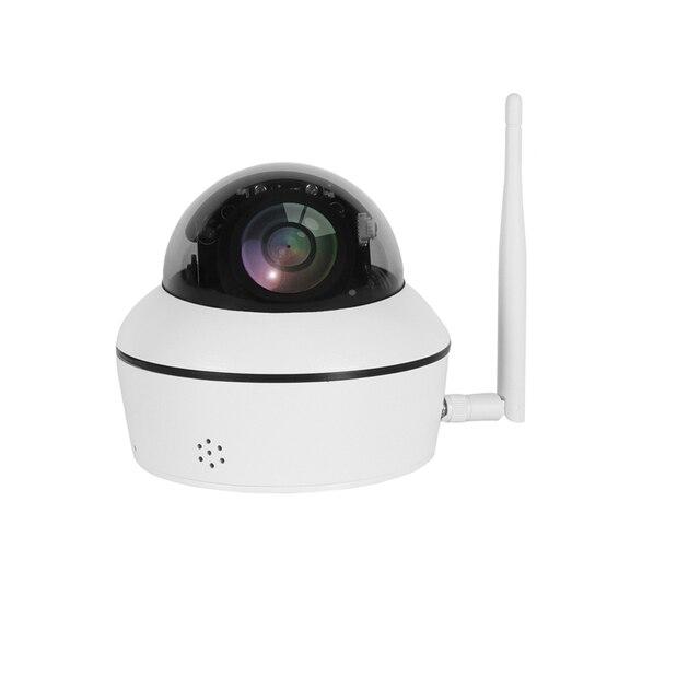 Фото 2 мп мини ptz wi fi камера водонепроницаемая двухканальная аудио цена