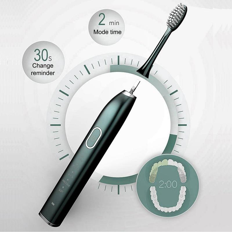 Automatic Toothbrush Ultrasonic Smart Toothbrush Household netic Levitation Adult Couple Charging Electric Toothbrush