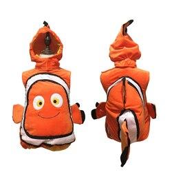 Halloween Christmas Animals Costume Baby Kids Fish Girl Clownfish From Pixar Animated Film Cosplay Dress Up