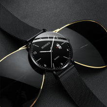 Fashion Mens Watches Brand Luxury Quartz Watch Luminous Waterproof Date Clock Men Business Casual Dress Watch Relogio Masculino