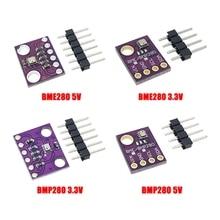 I2C / SPI BMP280 3,3 V BME280 5V Digital de la presión barométrica Sensor de altitud DC de alta precisión atmosférica módulo para Arduino