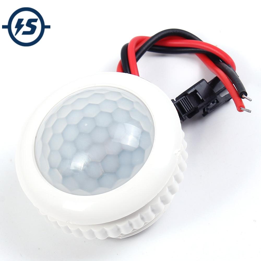 PIR IR Light Sensor Infrared Human Induction Lamp Switch 220V 50HZ Light Control Ceiling Light Motion Sensor On Off 3-6m Sensing