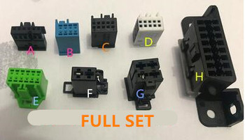 Car Connector Terminal Jack Test Cables for Mercedes Benz Work with VVDI MB BGA TOOL CGDI Prog MBw204 Key Plug image