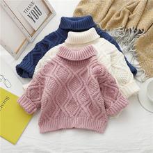 Jo & mi 2020 детский модный свитер для девочек свободная одежда
