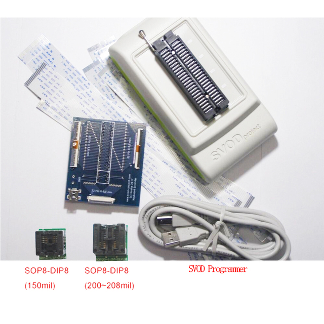 SVOD Programmatore + BIOS Flash adapter,SVOD3 SPI25 IO Programmatore KB9012,ITE,Nuvoton,MIO,KB9012,KB9016 NPCE,MEC, tastiera
